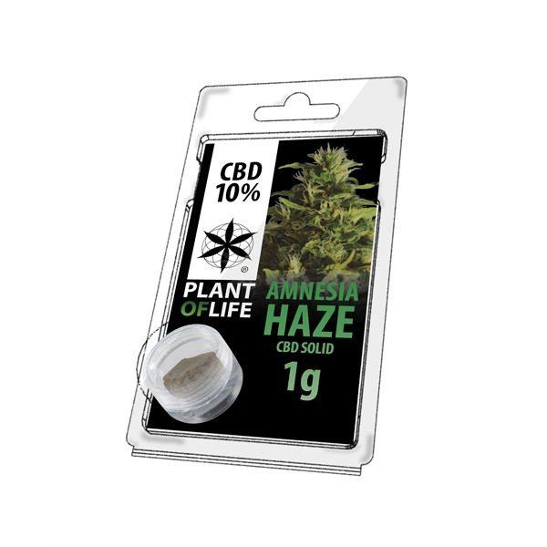 Résine 10% CBD de Amnesia Haze – Plant of Life® (Boite de 10pcs)