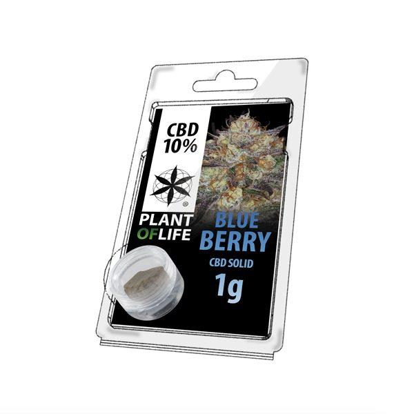 Résine 10% CBD de Blueberry – Plant of Life® (Boite de 10pcs)