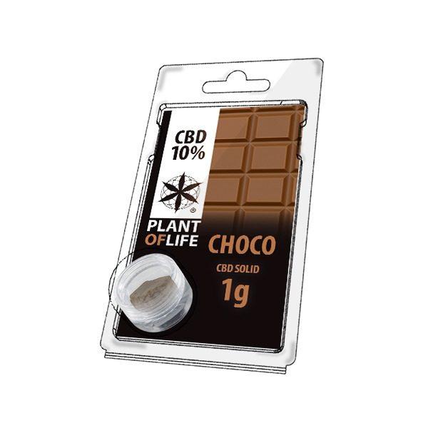 Résine 10% CBD de Chocolate – Plant of Life® (Boite de 10pcs)