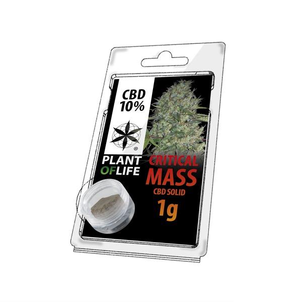 Résine 10% CBD de Critical Mass – Plant of Life® (Boite de 10pcs)