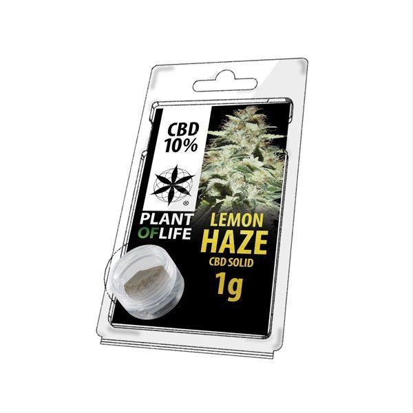 Résine 10% CBD de Lemon Haze – Plant of Life® (Boite de 10pcs)