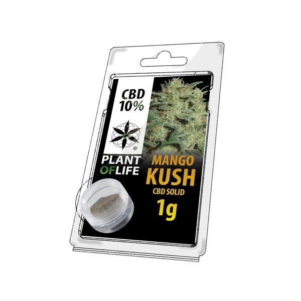 Résine 10% CBD de Mango Kush – Plant of Life® (Boite de 10pcs)