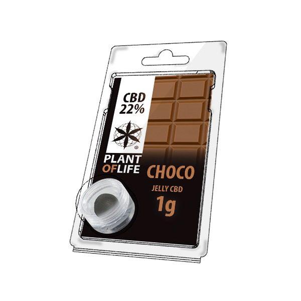 Résine 22% CBD de Chocolate – Plant of Life® (Boite de 10pcs)