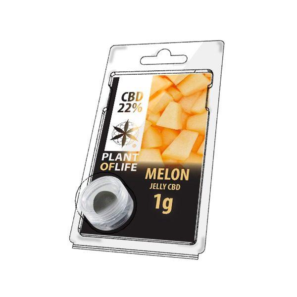 Résine 22% CBD de Melon- Plant of Life® (Boite de 10pcs)