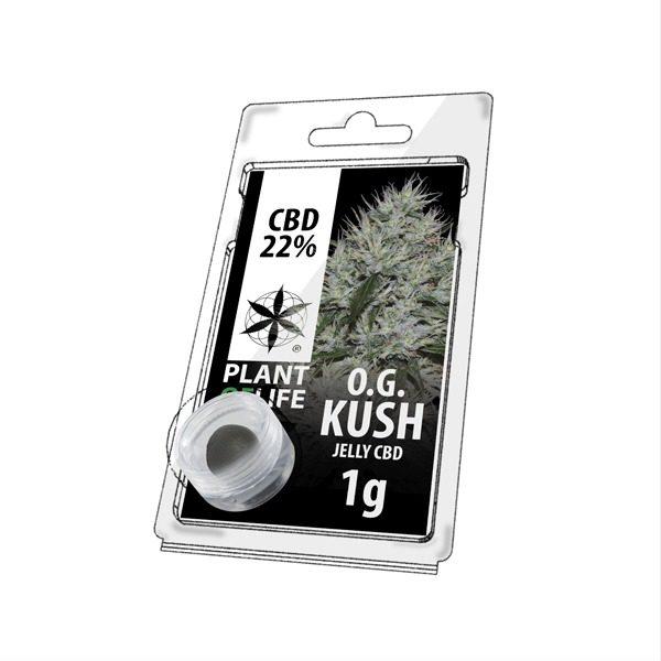 Résine 22% CBD de OG Kush – Plant of Life® (Boite de 10pcs)