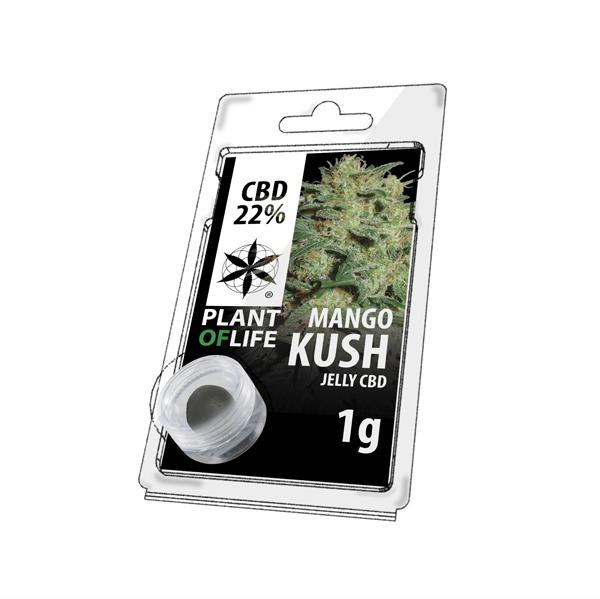 Résine 22% CBD de Mango Kush – Plant of Life® (Boite de 10pcs)